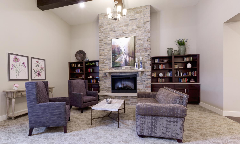 Heartis Arlington Texas Pi Architects Small Seating Area