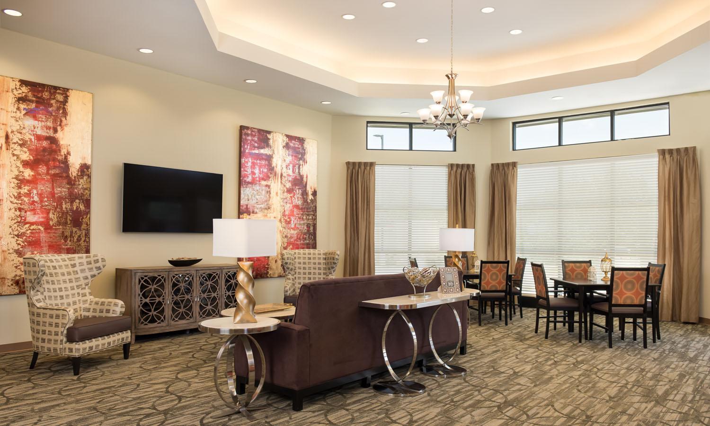 Forum Parkway Bedford Texas Living Room
