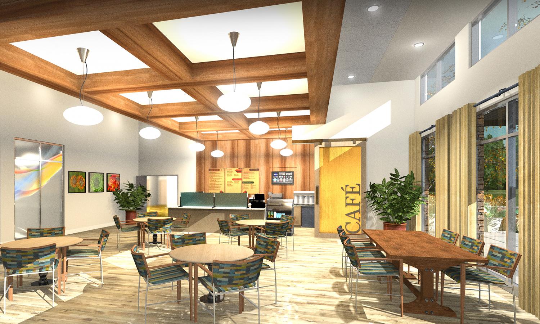 Pi Architects PVN Dining Render