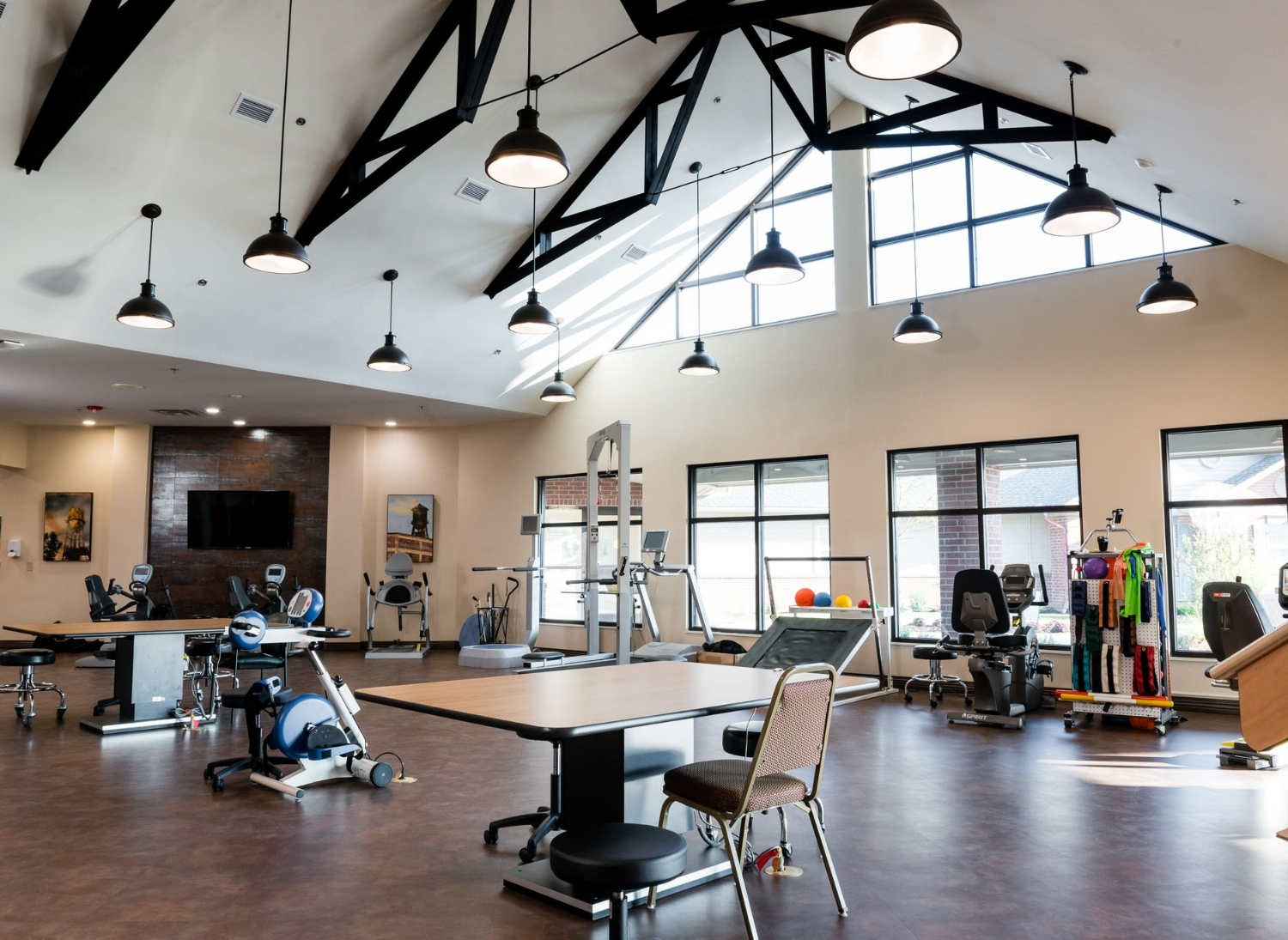 Pi Architects The Arbors New Therapy Gym