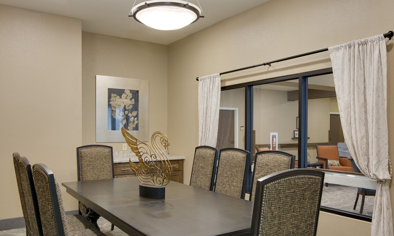 Pi Architects Skilled Nursing The Medical Resort at Willowbrook Meeting Room.jpg
