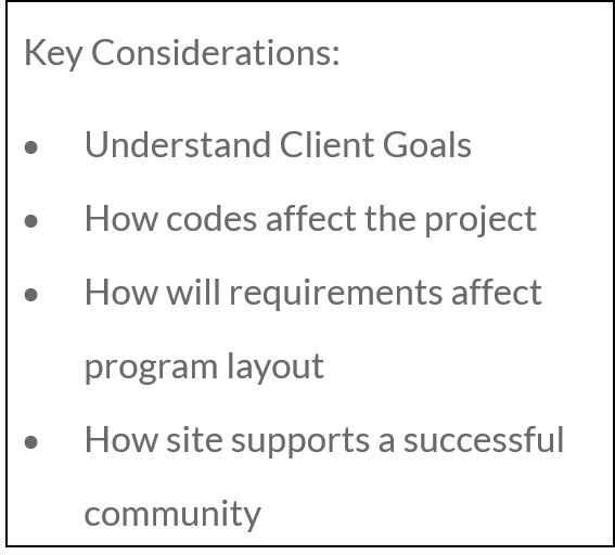 Key Considerations for Site Planning