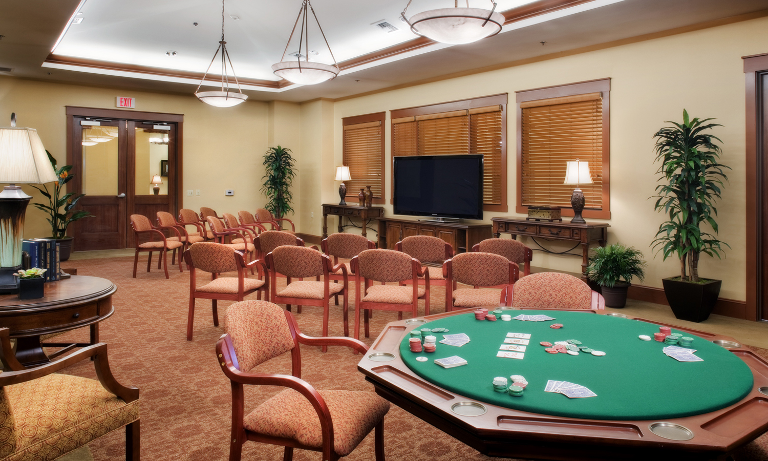 Pi Architects SPJST Poker Room