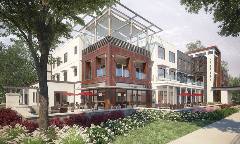Award Winning Project Vitality Commons Exterior
