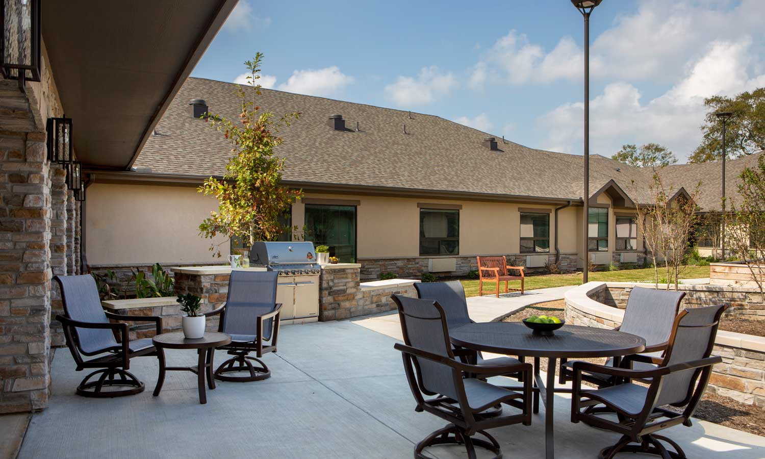 Copy of Assisted Living Courtyard