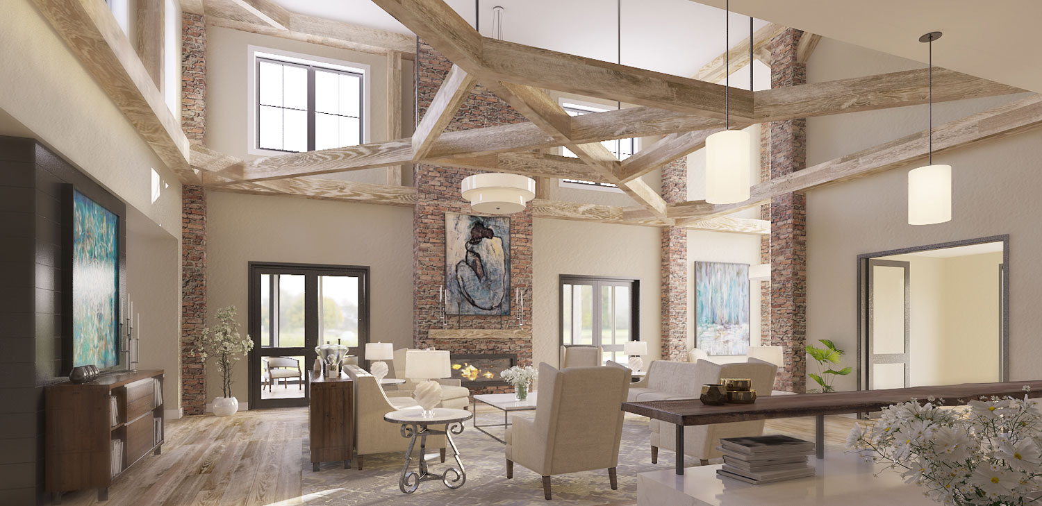 Pi Architects Interior Design for Assisted Living and Memory Care in Nashville, TN