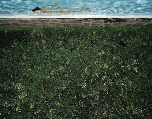Swimming Pool , 2003 Pigment print on heavy rag paper 26 x 33 1/2 inches, edition of 5 39 1/4 x 50 3/8 inches, edition of 3