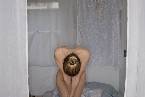 Bowing Girl,  2010 Pigment print on heavy rag paper 26 1/2 x 39 1/2 inches, edition of 5