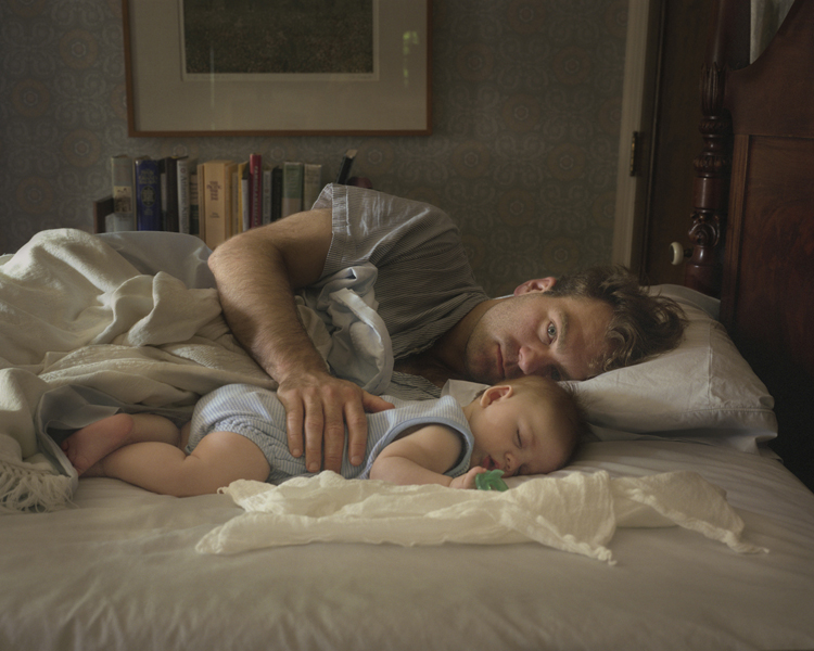 Christopher with Nicholas,  2008 Archival pigment print 16 x 20 inches, edition of 10 32 x 40 inches, edition of 10