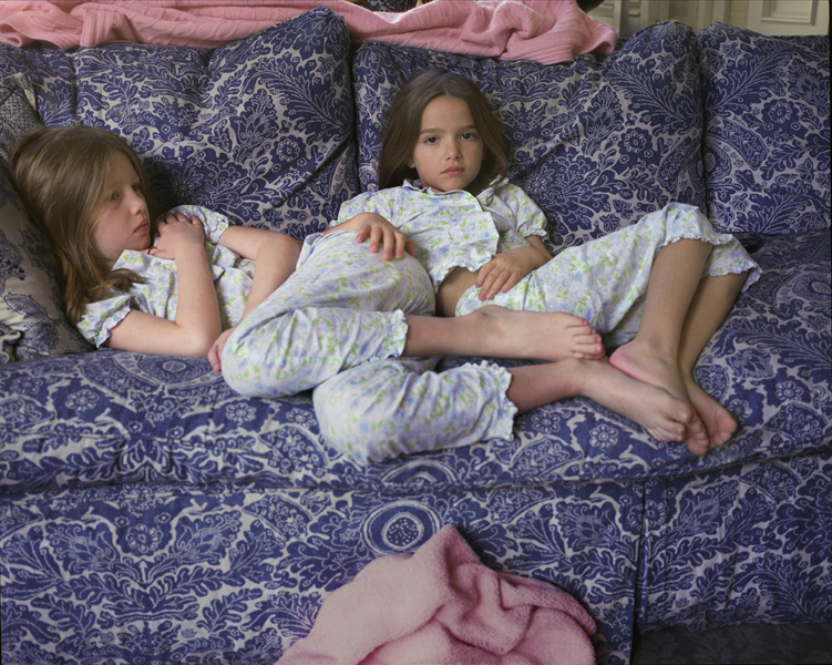 Eleanor and Olivia,  2010 Archival pigment print 16 x 20 inches, edition of 10 32 x 40 inches, edition of 10