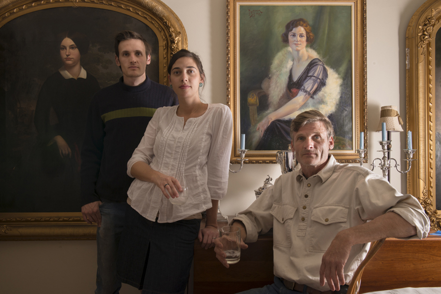 Family Portrait , 2012 Archival pigment print 16 x 20 inches, edition of 10 32 x 40 inches, edition of 10