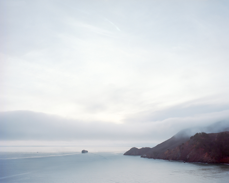 Golden Gate Bridge, CA (#7) , 2014 Archival pigment print The following work is available: 20 x 25 inches, edition of 10, 2 APs 32 x 40 inches, edition of 5, 2 APs