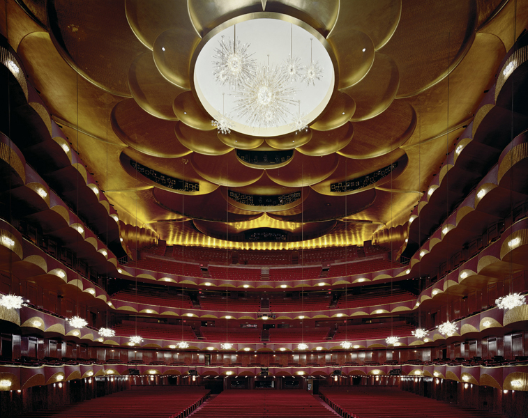 The Metropolitan Opera, New York, United States,  2008 Fujicolor Crystal Archive print mounted to Dibond  The following work is available: 40 x 50 inches , edition of 10 50 x 60 inches, edition of 8 72 x 90 inches, edition of 3