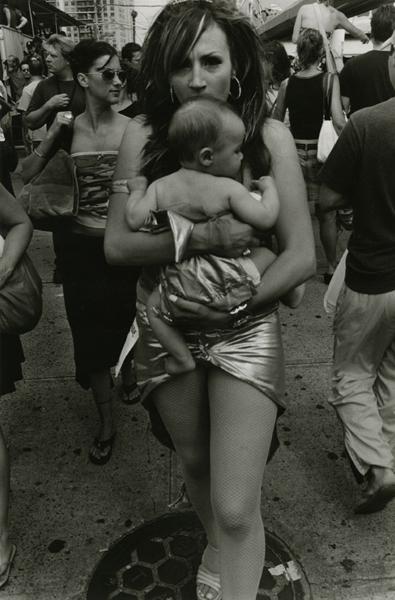 Mother Holding Child, Coney Island, 2005