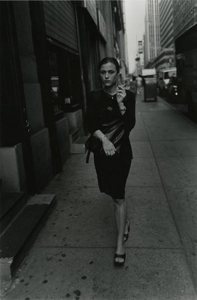 Elegant Woman with Cigarrette, 2005
