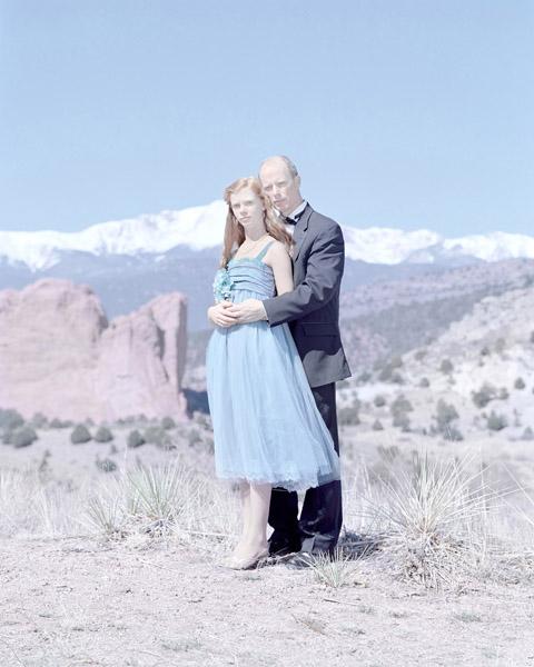 Grace Kruse, 14 Years & Gary Kruse. Black Forest, Colorado., 2011