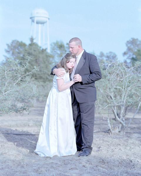 Erin Hope Smallwood, 13 years & Jay Smallwood. Haughton, Louisiana., 2011