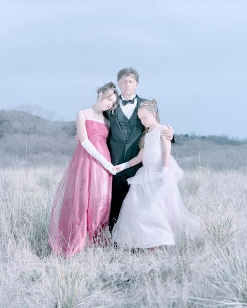 Kameryn Wilson, 14 years, Randy Wilson & Kaalyn Wilson, 9 years. Colorado Springs, Colorado., 2011