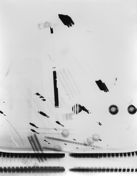 Untitled (Post-Photography) [P116],  2015 Unique gelatin silver print 14 x 11 inches