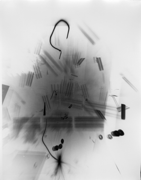 Untitled (Post-Photography) [P65] , 2013 Unique gelatin silver print 14 x 11 inches