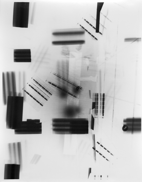 Untitled (Post-Photography) [P91],  2014 Unique gelatin silver print 14 x 11 inches