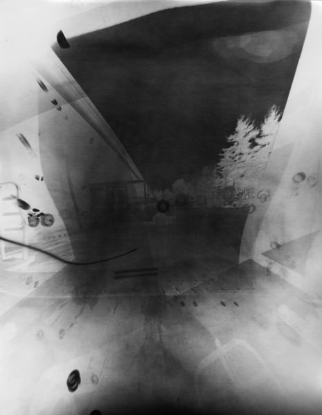 Untitled (Post-Photography)[P93] . 2014 Unique gelatin silver print 14 x 11 inches