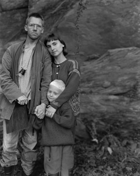 My Family, Lykling , 2001 Selenium toned gelatin silver print 10 x 8 inches Edition of 25