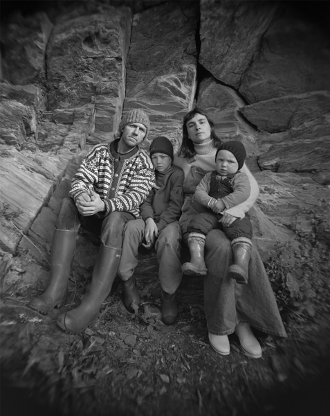 My Family, Lykling , 2005 Selenium toned gelatin silver print 10 x 8 inches Edition of 25