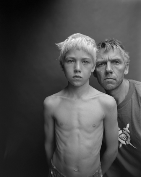 Jens Linus and Me, Oslo , 2006 Selenium toned gelatin silver print 10 x 8 inches Edition of 25
