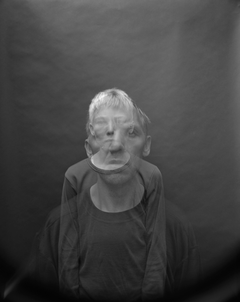 Jens Linus and Me, Oslo , 2007 Selenium toned gelatin silver print 10 x 8 inches Edition of 25