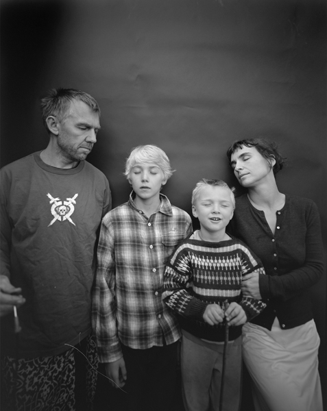 My Family, Oslo,  2008 Selenium toned gelatin silver print 10 x 8 inches Edition of 25