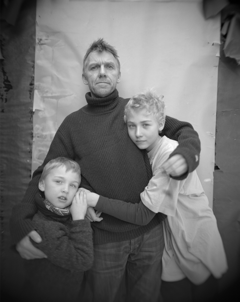 Pablo, Jens Linus and Me, Oslo , 2010 Selenium toned gelatin silver print 10 x 8 inches Edition of 12