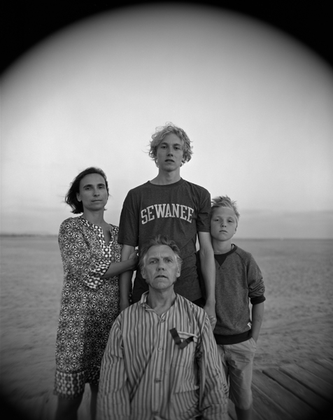 My Family, Conil, Spain , 2014 Selenium toned gelatin silver print 10 x 8 inches Edition of 12