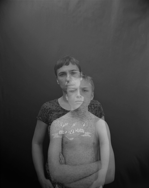 Alejandra and Pablo , 2015 Selenium toned gelatin silver print 10 x 8 inches Edition of 12