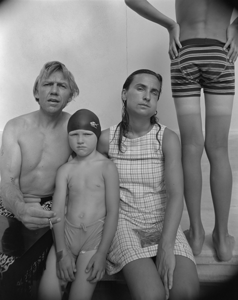 My Family,  2009 Selenium toned gelatin silver print 10 x 8 inches Edition of 12