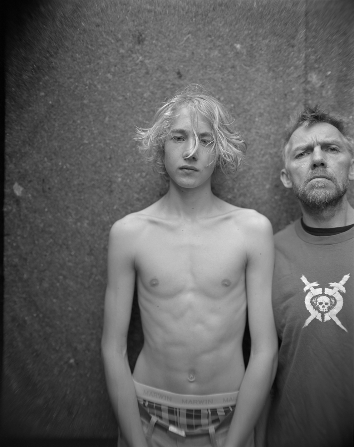 Jens Linus and Me, Oslo,  2012 Selenium toned gelatin silver print 10 x 8 inches Edition of 12
