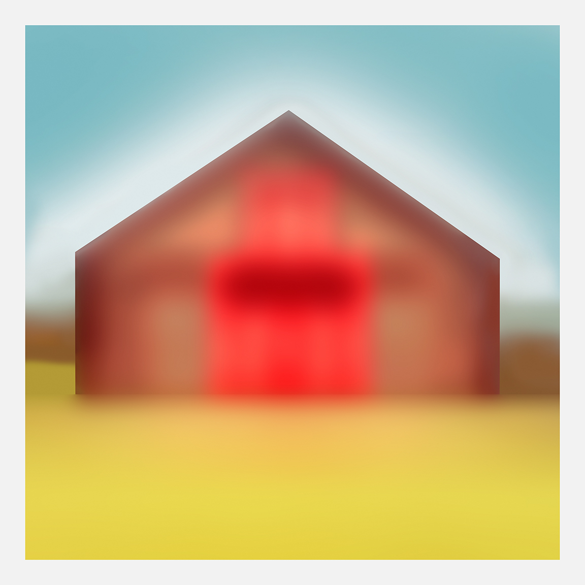 Lynn DUNHAM  Barn #3 , 2018 Archival pigment print.  43 x 43 inches. Edition of 3