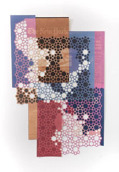 Donna Ruff  Polar Melt , 2018 Archival pigment print 34.5 x 22.5 inches Edition 1 of 3