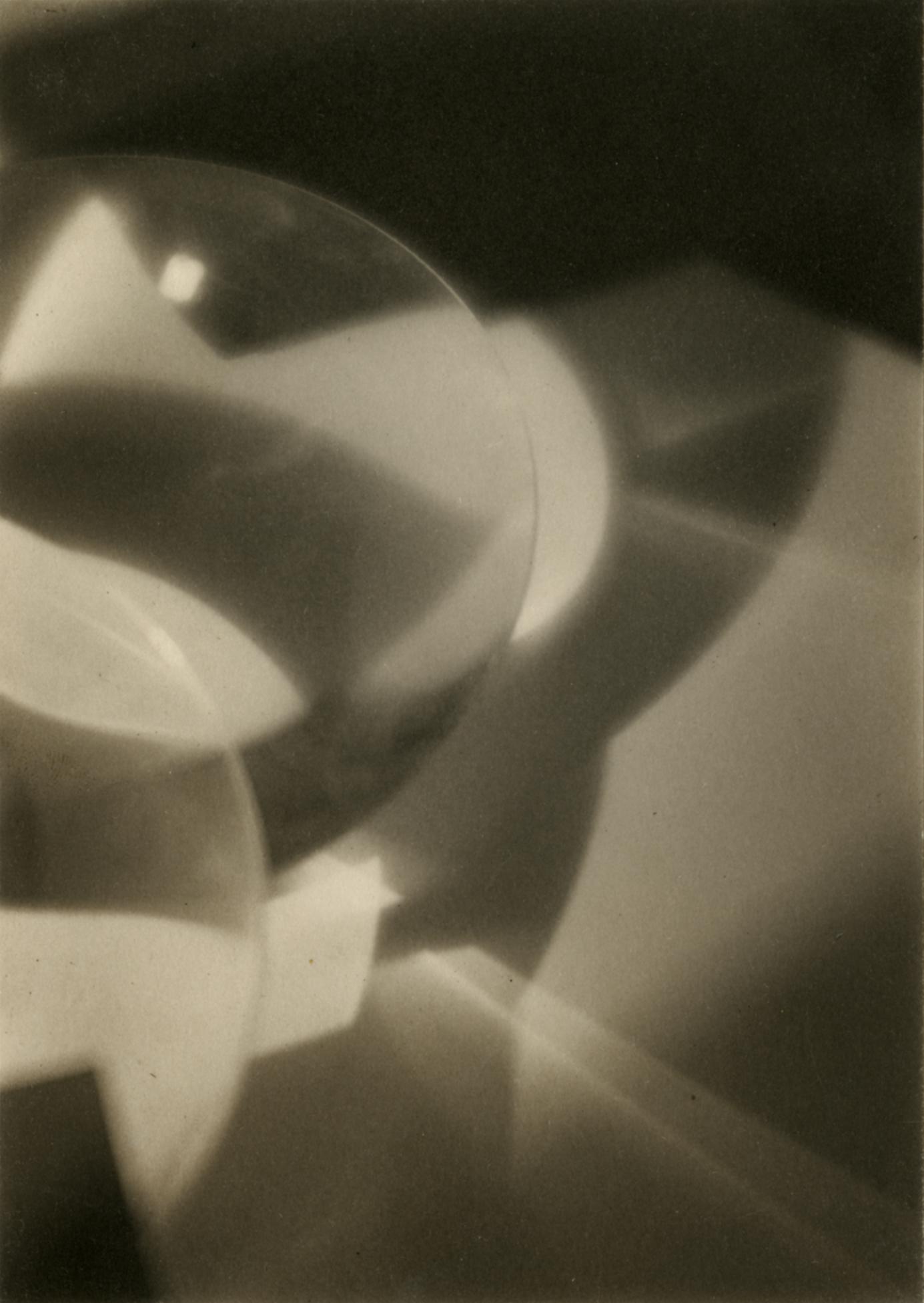 "Ira Wright Martin  Abstract Design (""Marche Funèbre""),  1921 Palladium print 6 1/2 x 4 1/2 inches"