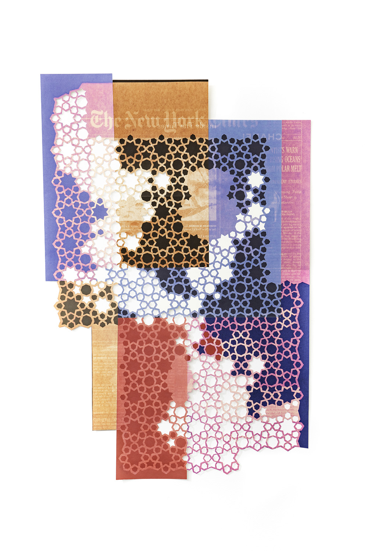 Donna Ruff  Polar Melt , 2018 Archival pigment print 34 1/2 x 22 1/2 inches Edition 1 of 3