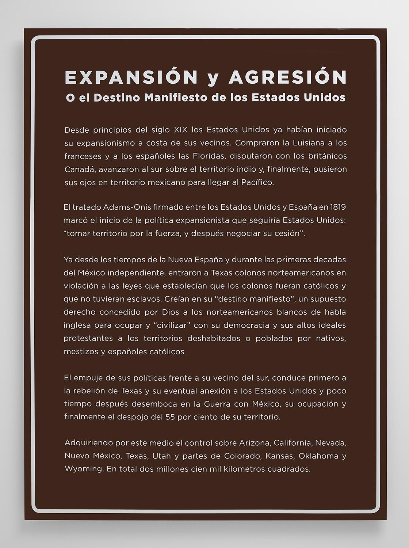 The Missing Roadside History - Expansión y Agresión, 2016