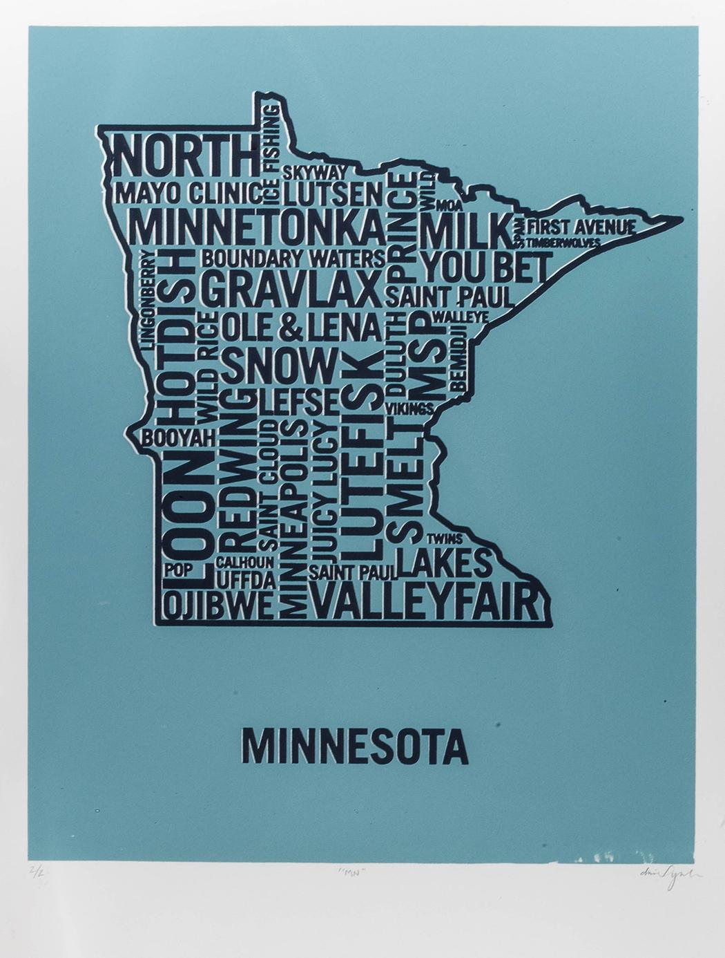 Minnesota Blue Dan Yaker Screen Print.jpg