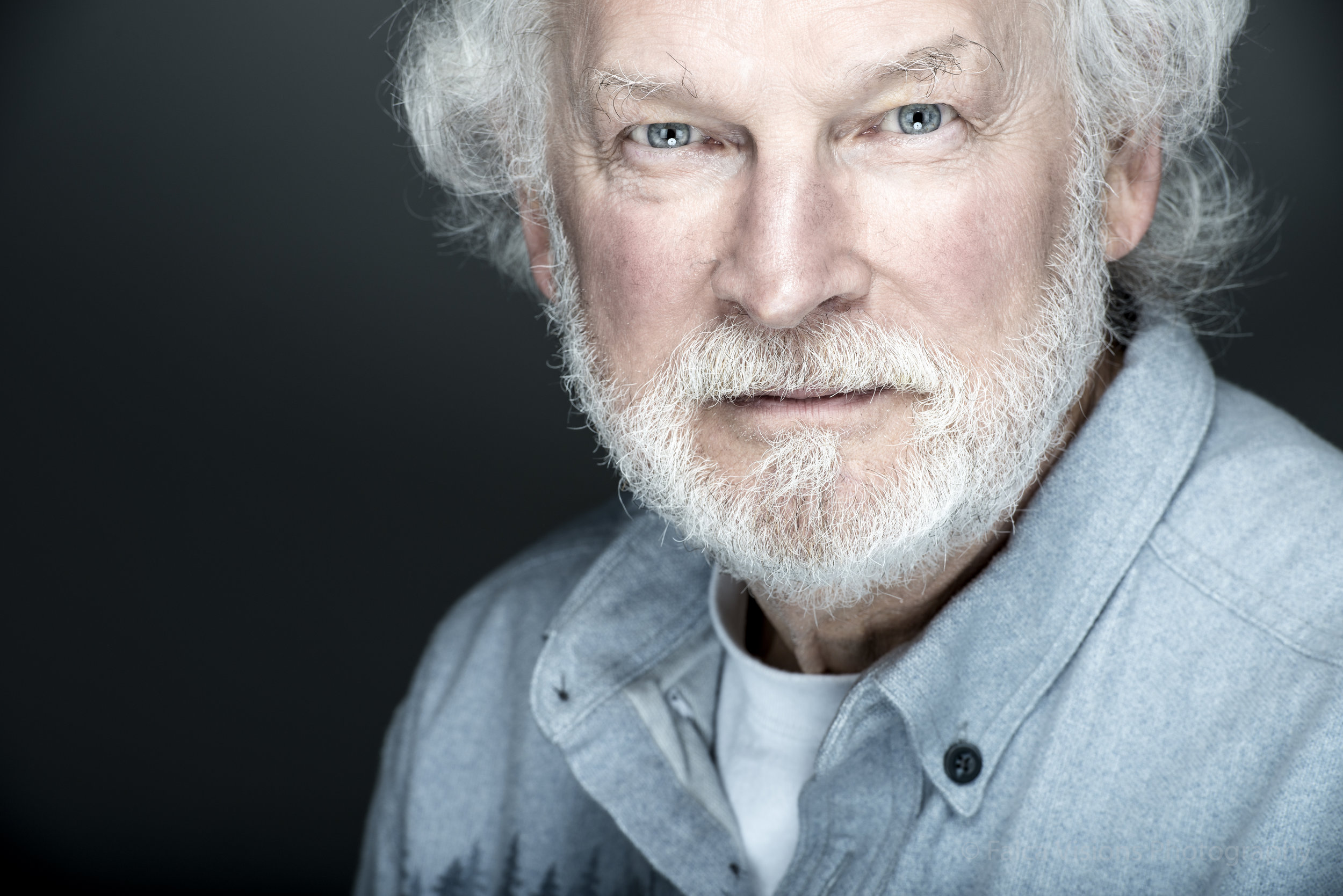 200 mm Headshot of my Friend Larry - Look at the difference and how much more flatering this is!