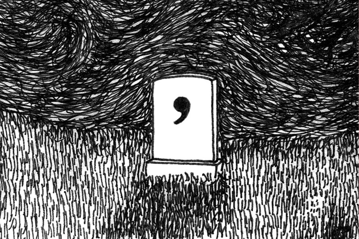 Illustration – Death of the Comma