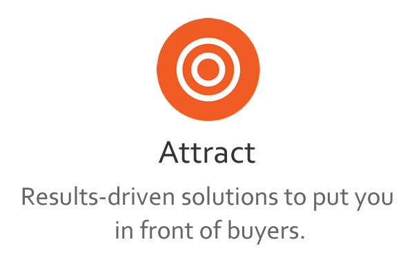 Results-driven solutions to put you in front of buyers.