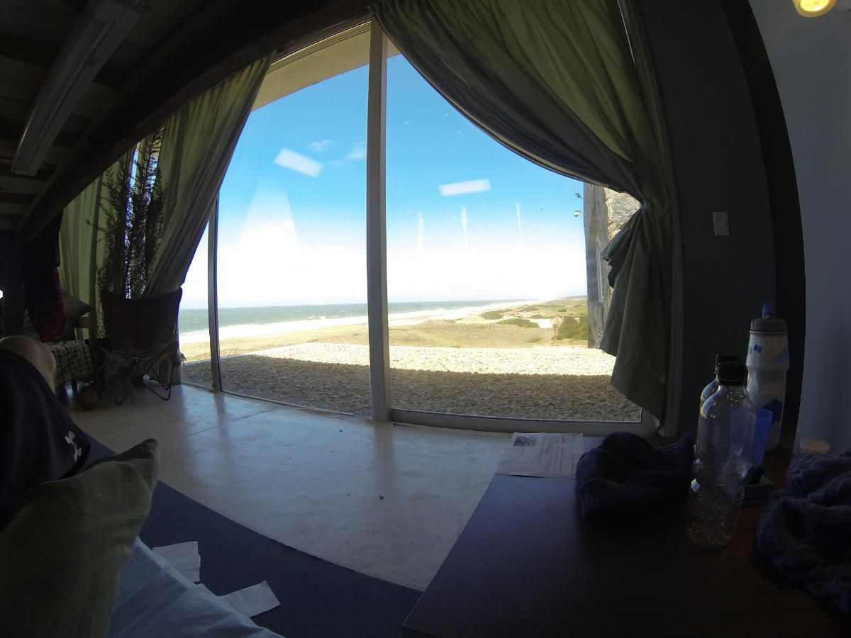 Ocean view from my bed