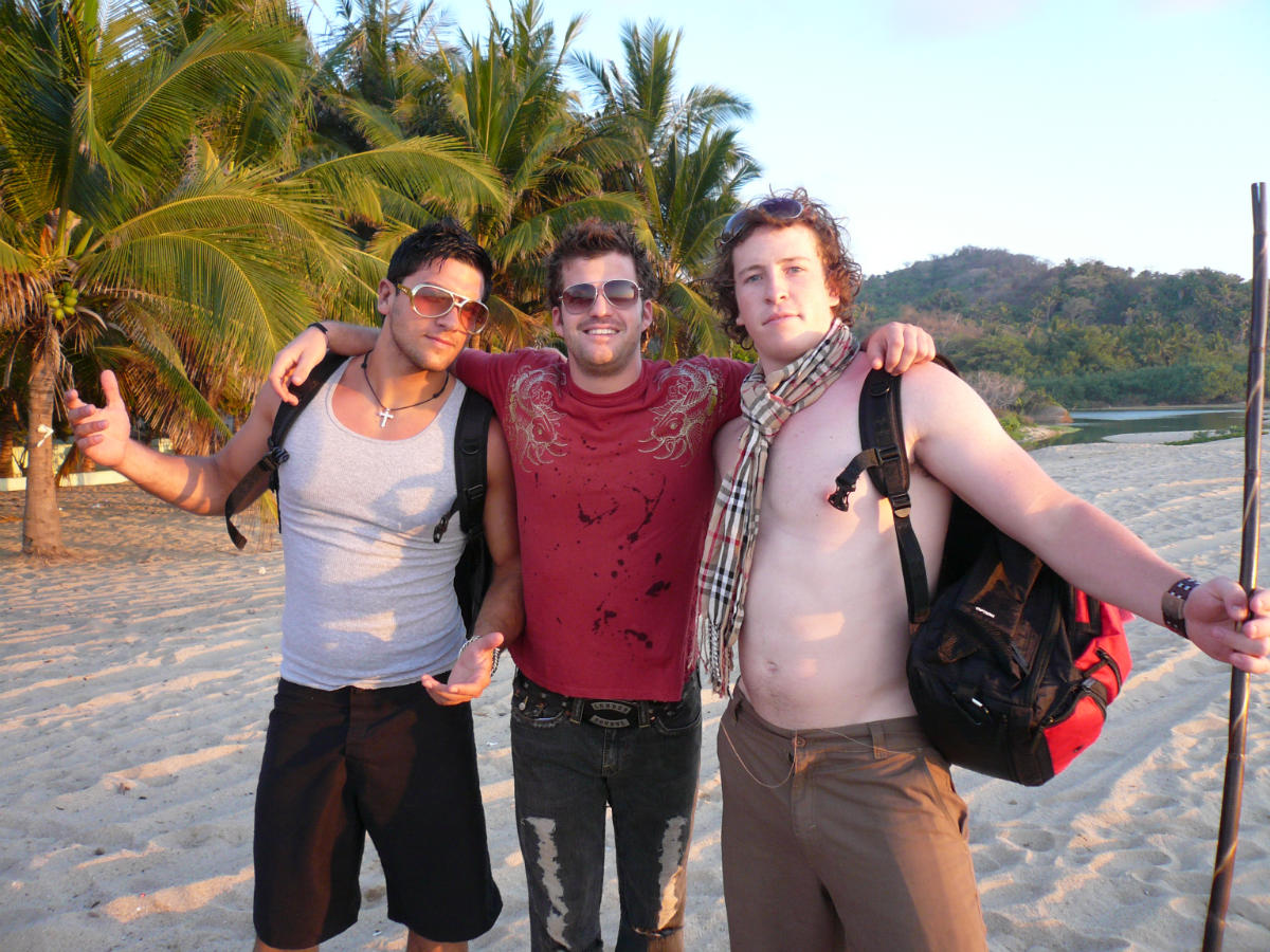 JEK on the beach in Mexico (Gauntlet III 2008)