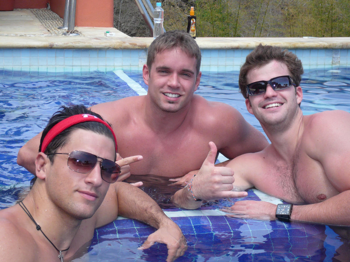 Pool Boys Kenny, Danny, me (Gauntlet III 2008)