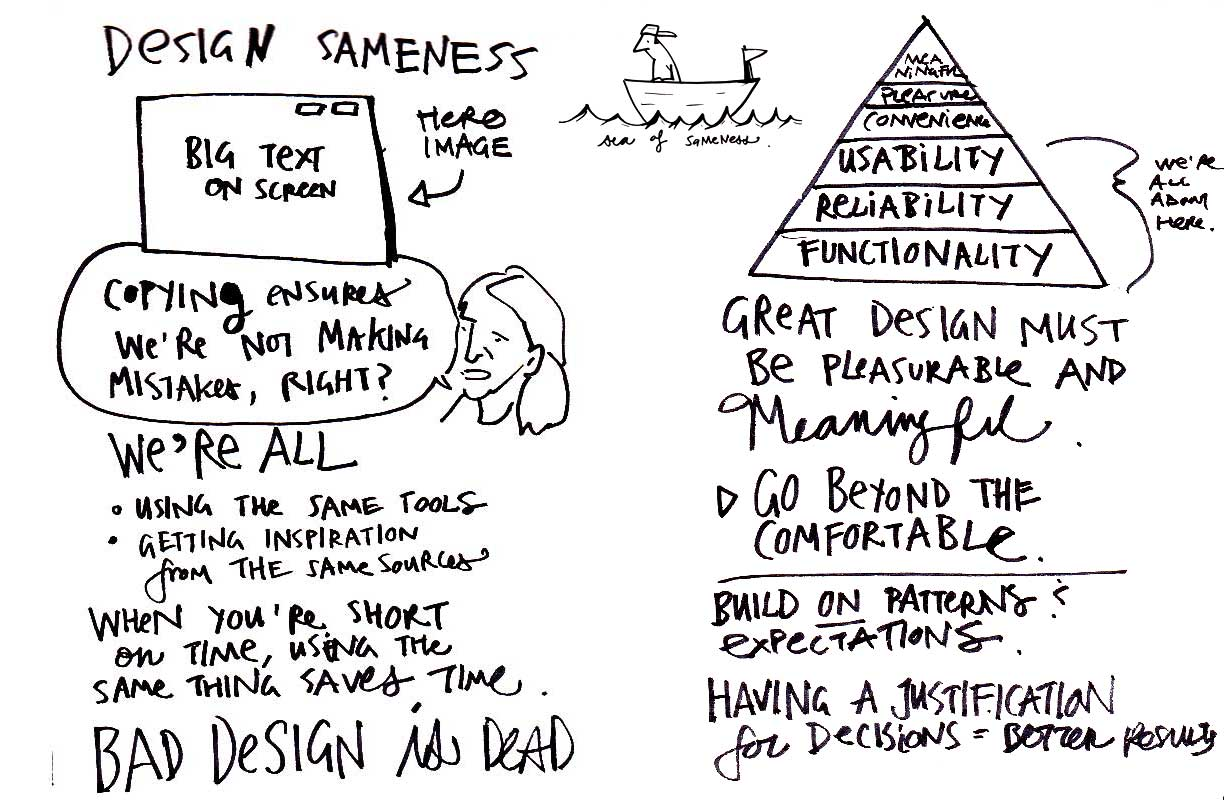 I thought this design talk from Nour Tabet made a lot of very good points.