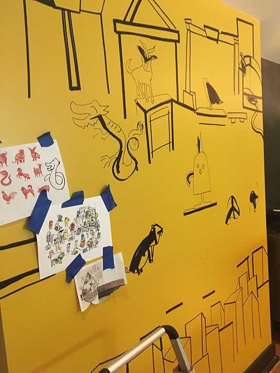 Chicko-MuralInProgress-DanaJeriMaier